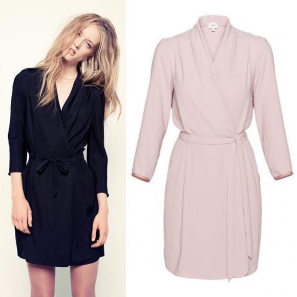 Aritzia Dresses & Skirts - Aritzia Wilfred Franca Wrap Tie Dress